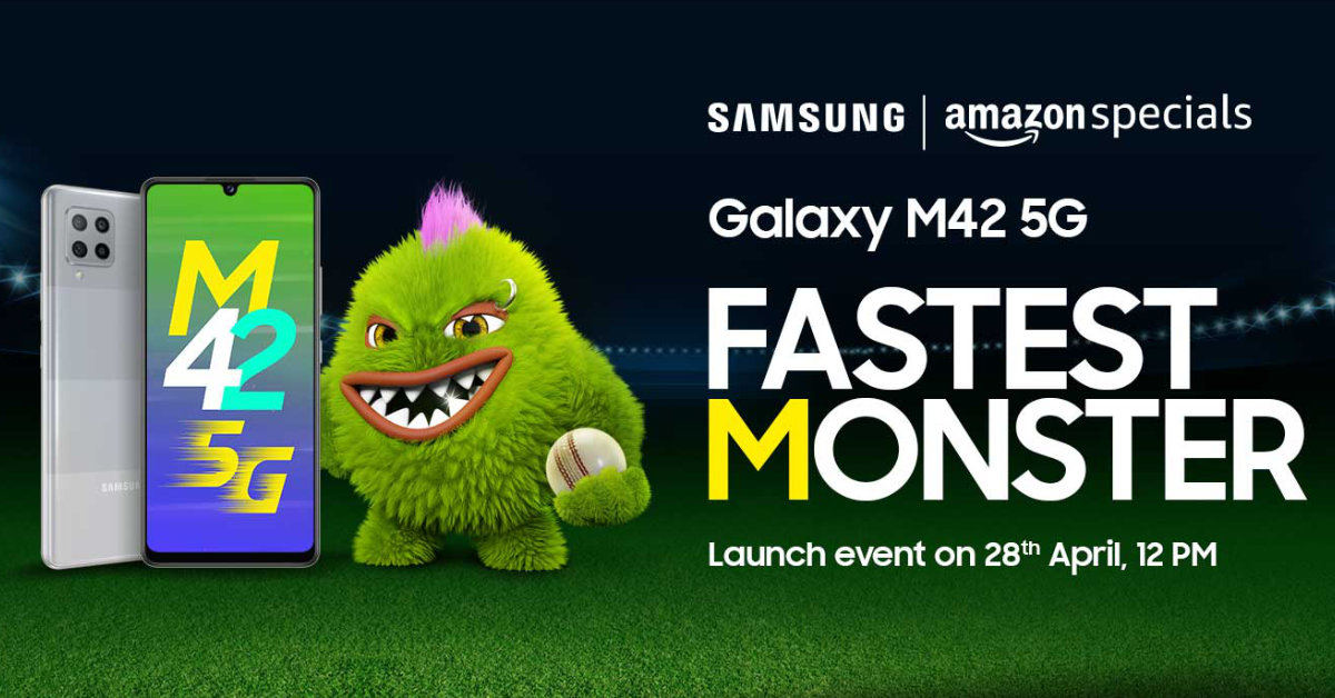 Samsung เตรียมเปิดตัว Galaxy M42 5G วันที่ 28 เมษายนนี้ คาดมาพร้อมแบต 6000 mAh และราคาไม่ถึงหมื่นบาท