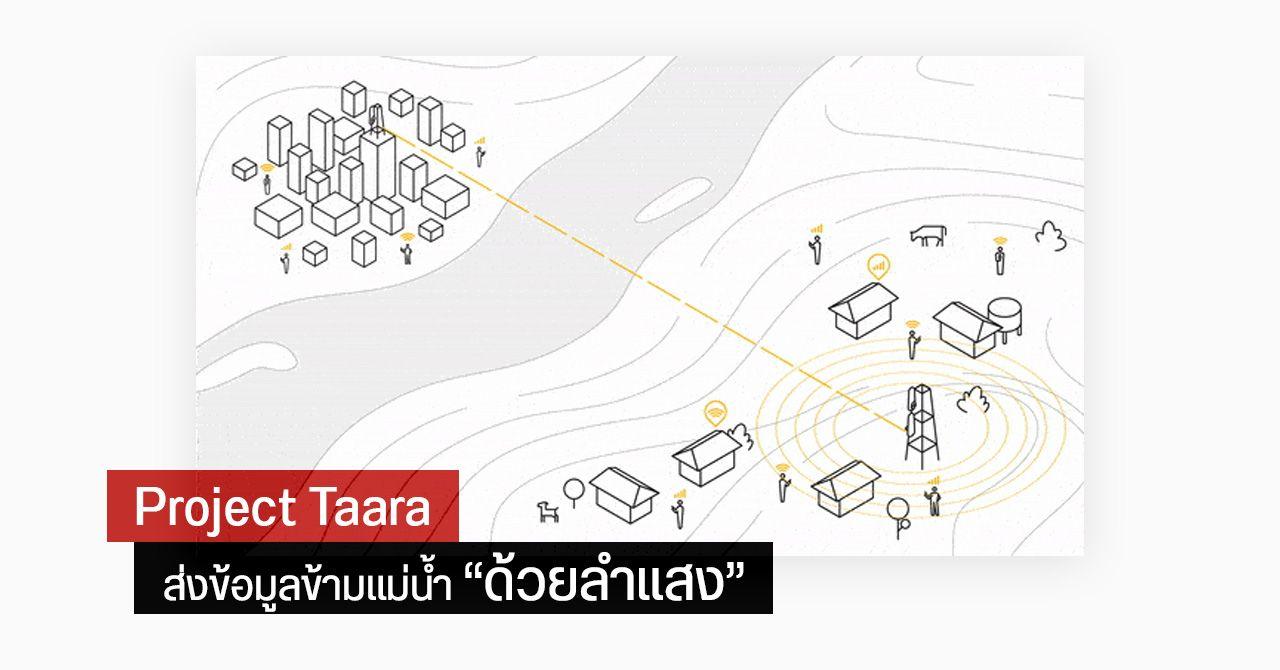 อย่างเจ๋ง… Alphabet ทดลองส่งอินเทอร์เน็ตความเร็วสูงข้ามแม่น้ำด้วยลำแสง ภายใต้โครงการ Taara