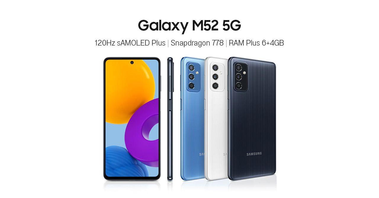 Samsung เปิดตัว Galaxy M52 5G ใช้ชิป Snapdragon 778 ในราคาย่อมเยากว่า Galaxy A52s 5G
